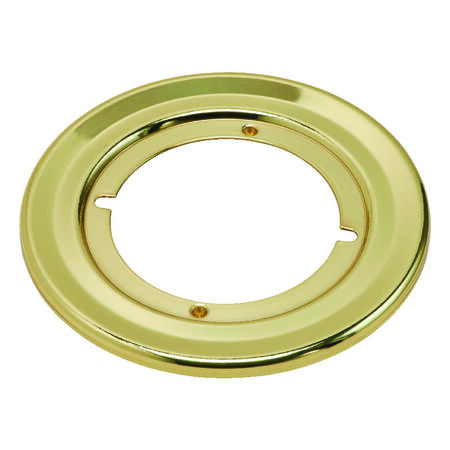 Kwikset Polished Brass Rosette Rounds 1 pk Left Handed Right Handed