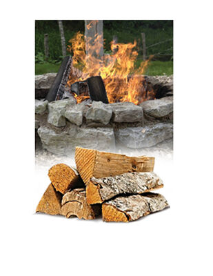 Firewood Seasoned bundle 0.75 cu ft