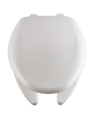 Bemis Plastic Toilet Seat Elongated White