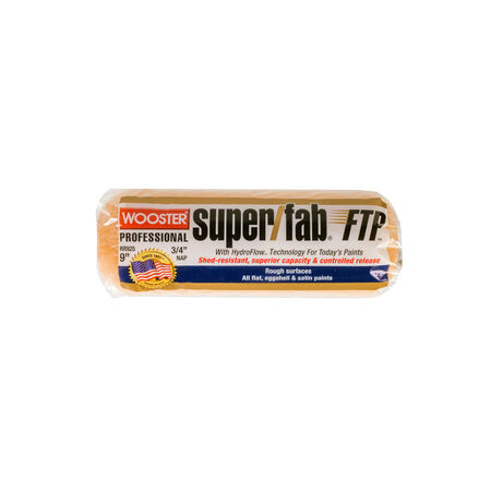 Wooster Super/Fab FTP Synthetic Blend 3/4 in. x 9 in. W Paint Roller Cover 1 pk