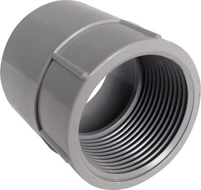 Cantex 1-1/2 in. Dia. PVC Female Adapter