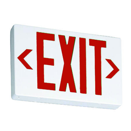 Briteway Lithonia Lighting Thermoplastic Indoor LED Lighted Exit Sign