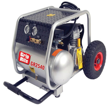 Grip-Rite 2-HP 4-Gallon 150-PSI Electric Air Compressor