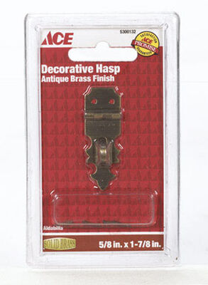 Ace 1 Antique Decorative Hasp