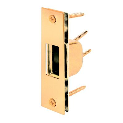 Prime-Line High Security Box Strike 1.19 in. 1-1/4 in. x 4-7/8 in. Zinc Steel 1/Box
