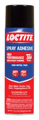 Loctite High Performance Middleweight Bonding Spray Adhesive 13.5 oz.