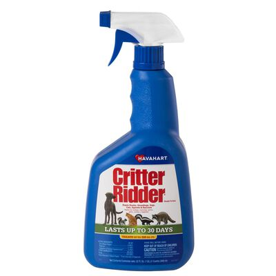 Havahart Critter Ridder For Cats Dogs Groundhogs Raccoons Shunks Squirrels Animal Repellent