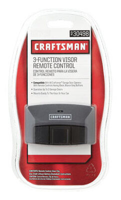 Craftsman 3 Function Garage Door Remote 3 Door