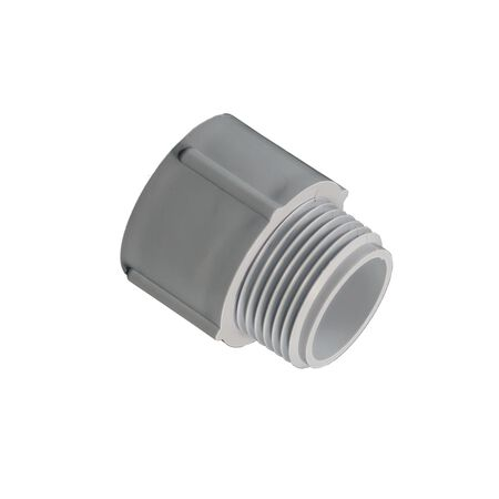 Cantex 1/2 in. Dia. PVC Male Adapter