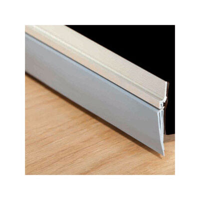M-D Building Products Door Bottom Aluminum 3 ft. L Weather Stripping Silver