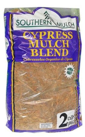 Cypress Blend Mulch Natural 2 cu. ft.