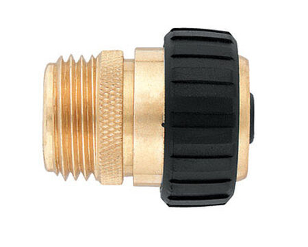 Ace 5/8 in. Brass Hose Mender Male Threaded