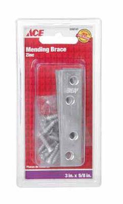 Ace 3 in. H Mending Brace 4 Zinc