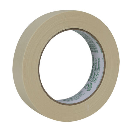 Duck 0.94 in. W x 60 yd. L Beige Regular Strength Masking Tape 1 pk