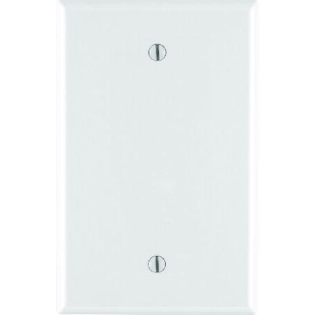 Leviton Midway 1 gang White Nylon Blank Midsize Wall Plate 1 pk