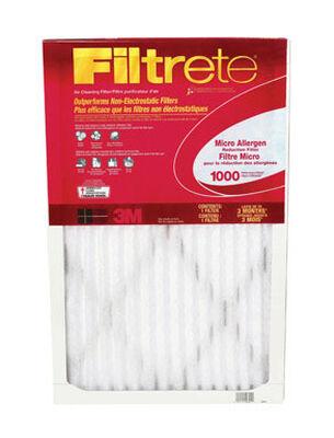 3M Filtrete 30 in. L x 24 in. W x 1 in. D Fiberglass Air Filter 11 MERV
