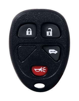 DURACELL Renewal Kit Automotive Replacement Key GM KOBGT04A 4-Button Case & Button Pad Double s