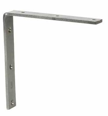 Ace Inside L Corner Brace 8 in. x 1-1/4 in. Stainless Steel