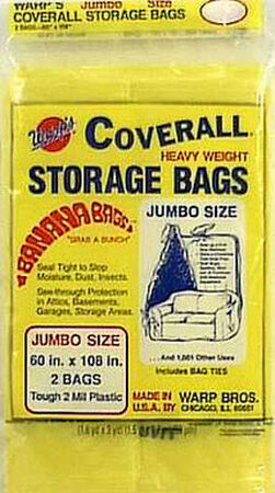 Warp's Jumbo Storage Bag 60 in. H x 60 in. W x 108 in. D