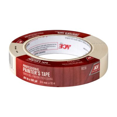 Ace 0.94 in. W x 60 yd. L General Purpose Painter's Tape Regular Strength Beige 1 pk