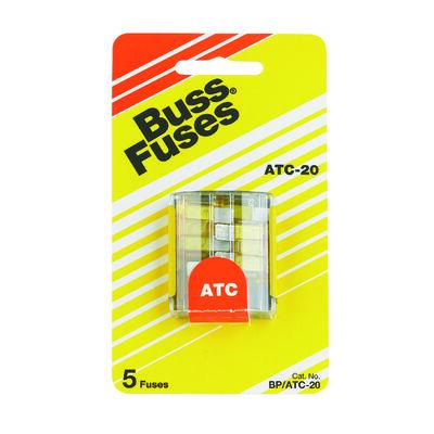 Bussmann 20 amps ATC Automotive Fuse 5 pk