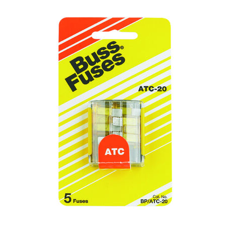 Bussmann 20 amps ATC Automotive Fuse 5 pk