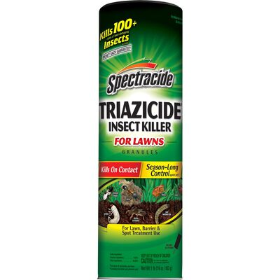 Spectracide Triazicide for Lawns Insect Killer For Lawn Invading Insects 1 lb.