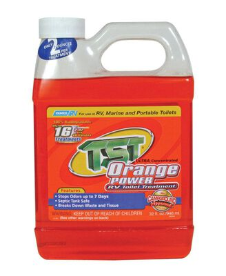 Camco TST Orange Power RV Toilet Treatment 32 oz. 1 pk