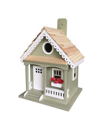 Home Bazaar 9.25 in. H Wood Bird House