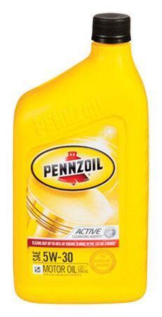 Pennzoil SAE 5W30 Motor Oil 1 qt.