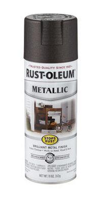 Rust-Oleum Stops Rust Oil Rubbed Bronze Metallic Spray 11 oz.