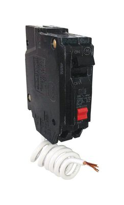 GE Single Pole 20 amps Circuit Breaker With Self Test