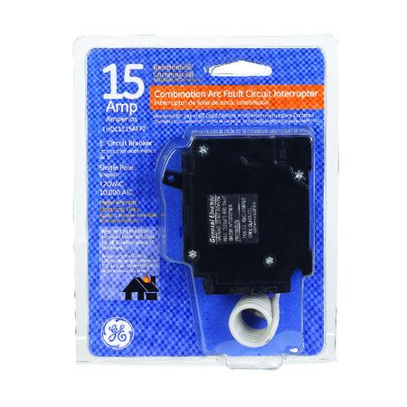 GE Q-Line Arc Fault/Single Pole 15 amps Circuit Breaker