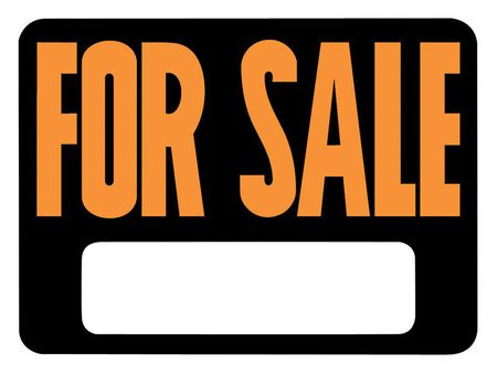 Hy-Ko English 9 in. H x 12 in. W Plastic Sign For Sale