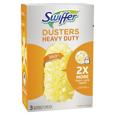 Swiffer Dusters Fiber Heavy Duty Duster Refill 3 pk