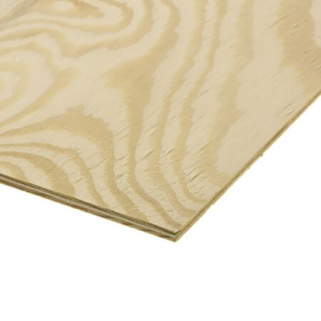 Treated CDX Plywood 4' x 8' x 1/2""