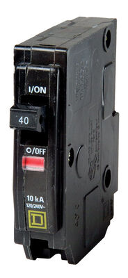 Square D QO Single Pole 40 amps Circuit Breaker