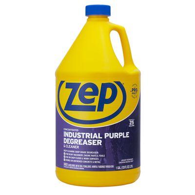 Zep Industrial Purple Mild Scent Cleaner and Degreaser 128 oz. Liquid