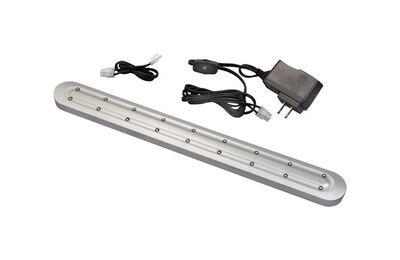 Westek Slimline 16 in. L Plug-In LED Under Cabinet Light Strip Nickel