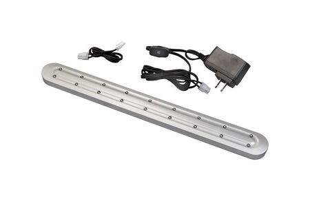 Westek Slimline 16 in. L Plug-In LED Under Cabinet Light Strip Nickel