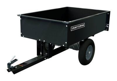 Craftsman 12 cu. ft. Steel Dump Cart 1000 cu. ft.