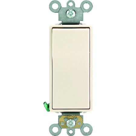 Leviton Commercial Decora 20 amps Rocker Switch Single Pole