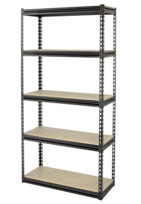 Casa Solutions 72 in. H x 36 in. W Steel Shelving Unit