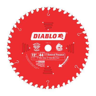 Freud Diablo 12 in. Dia. 44 teeth Carbide Tip Circular Saw Blade For General Purpose