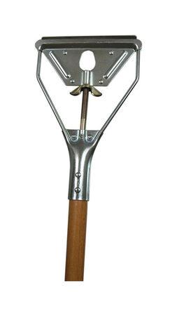 Contek Mop Stick Hardwood 1-1/8 in. x 54 in. 54 in. Bulk