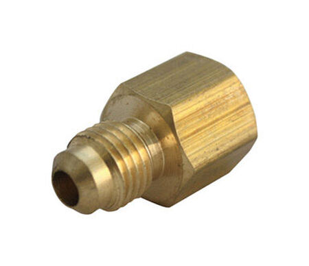 Ace 1/4 in. FPT Dia. x 3/8 in. FPT Dia. Brass Flare Connector