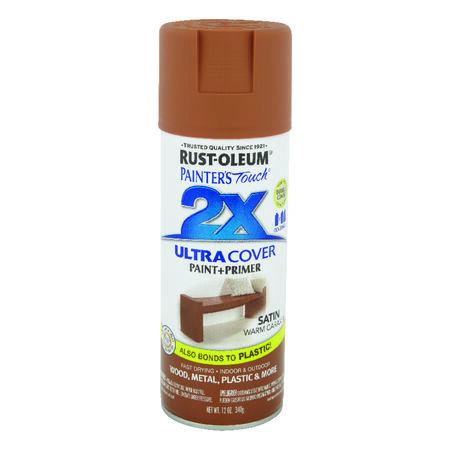 Rust-Oleum Painter's Touch 2X Ultra Cover Satin Warm Caramel Spray Paint 12 oz.