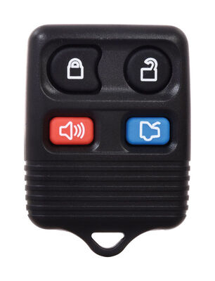 DURACELL Self Programmable Remote Automotive Replacement Key Ford CWTWB1U331 4-Button Remote L