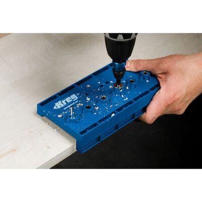 Kreg Drill For Wood Shelf Pin Jig