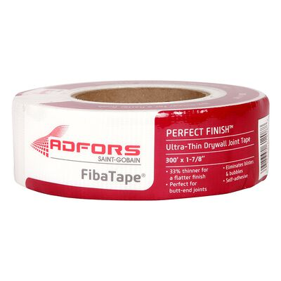 FibaTape Drywall Joint Tape Fiberglass Mesh Self Adhesive 1-7/8 in. W x 300 ft. L